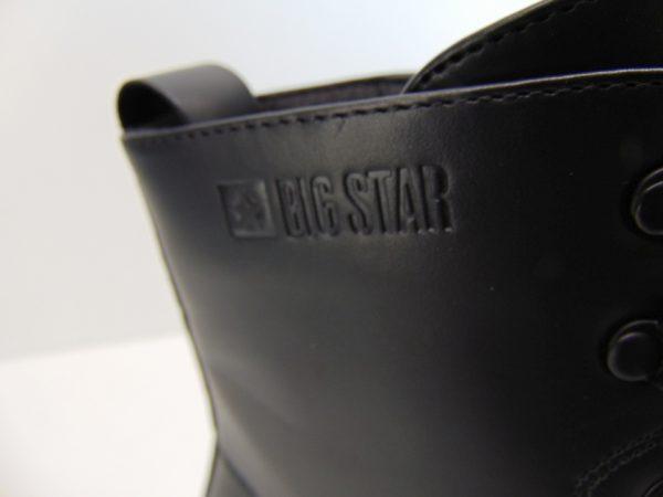 Big Star botek trzewik II274112 czarny